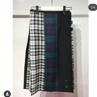 サカイ(sacai)のle kilt スカート(ひざ丈スカート)
