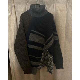 kolor - ぞう様専用kolor 19aw ドッキングタートルセーター