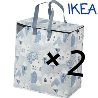 イケア(IKEA)の☆IKEA イケア プリルタ LL2枚 エコバッグ 収納袋 トートバッグ♪大容量(ケース/ボックス)
