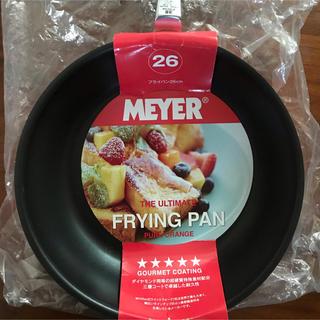 マイヤー(MEYER)の【売約済みです】 マイヤー 26cmフライパン 未使用、ガス専用(鍋/フライパン)