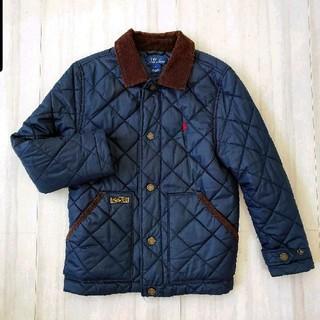 ラルフローレン(Ralph Lauren)のラルフローレン 男の子 キルティングコート上着ネイビー(ジャケット/上着)