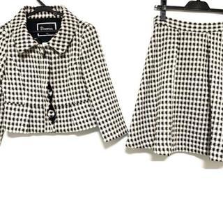 グレースコンチネンタル(GRACE CONTINENTAL)のダイアグラム スカートスーツ サイズ36 S -(スーツ)