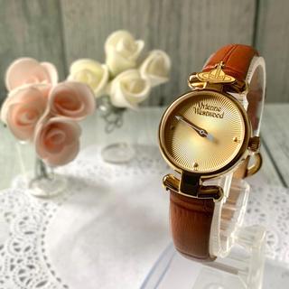 Vivienne Westwood - 【美品】vivienne ヴィヴィアン 腕時計 VV090GDBR オーブ