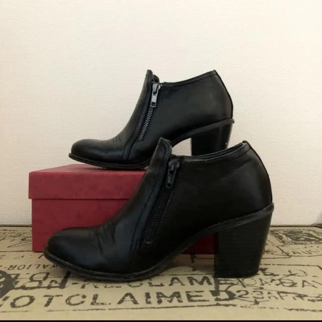 JELLY BEANS(ジェリービーンズ)のショートブーツ ウエスタン レディースの靴/シューズ(ブーツ)の商品写真