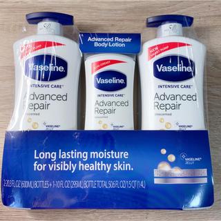 ヴァセリン(Vaseline)のヴァセリン アドバンスドリペア ボディローション 3本セット(ボディローション/ミルク)