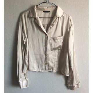 Kastane - サテンシャツ