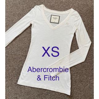 アバクロンビーアンドフィッチ(Abercrombie&Fitch)の【Abercrombie & Fitch】Vネック 長袖 Tシャツ XS(Tシャツ(長袖/七分))