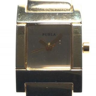 フルラ(Furla)のFURLA(フルラ) 腕時計 レディース ゴールド(腕時計)