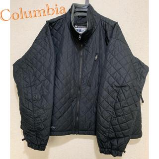 コロンビア(Columbia)のColumbia ダウンジャケット ブラック パフジャケット(ダウンジャケット)