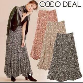 COCO DEAL - COCO DEALロングスカートエスカルゴフラワー 花柄