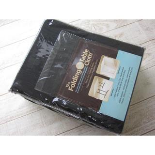 コストコ(コストコ)のコストコ ボックス型テーブルクロス ブラック/〓ZTK(アウトドアテーブル)