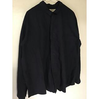 kaval ワイドシャツ コットンタイプライター