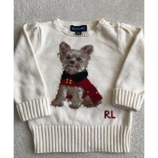 POLO RALPH LAUREN - ラルフローレン 綿ニット セーター 90cm