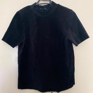ベルシュカ(Bershka)のベルシュカ ベロアハイネックT(Tシャツ(半袖/袖なし))