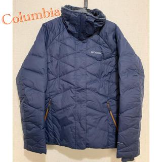 コロンビア(Columbia)のColumbia ダウンジャケット ネイビー パフジャケット(ダウンジャケット)