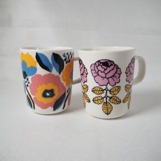 marimekko - 【新品】marimekko 2020年 ヴィヒキルース&ロサリウム マグカップ