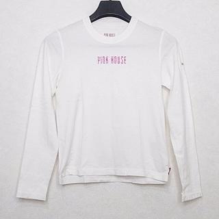 ピンクハウス(PINK HOUSE)のピンクハウス 長袖Tシャツ サイズM -(Tシャツ(長袖/七分))
