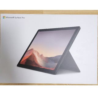 マイクロソフト(Microsoft)のSurface Pro 7 (ブラック) PUV-00027 office未使用(ノートPC)