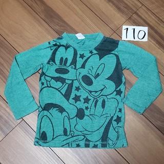 Disney - ロンT 長袖 ミッキー 110