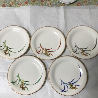 コウランシャ(香蘭社)の香蘭社 貴婦人 銘々皿 5枚(食器)
