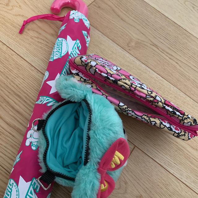 EARTHMAGIC(アースマジック)のアースマジック♡3点セット♡傘、ポシェット、ペンケース キッズ/ベビー/マタニティのこども用ファッション小物(その他)の商品写真