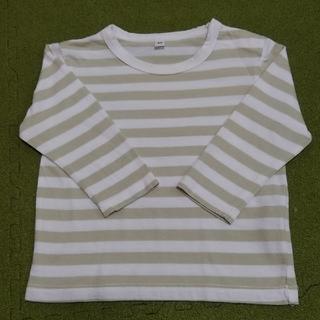ムジルシリョウヒン(MUJI (無印良品))の無印良品 長袖Tシャツ 80サイズ(シャツ/カットソー)