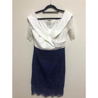 JEWELS - ホワイト ブルー Jewels ドレス
