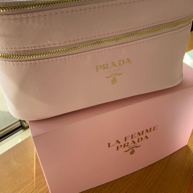PRADA(プラダ)の新品 未使用 PRADA バニティバッグ レディースのファッション小物(ポーチ)の商品写真