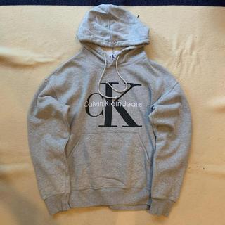 カルバンクライン(Calvin Klein)の90s Calvin Klein ビッグロゴ フーディ ヴィンテージ(パーカー)
