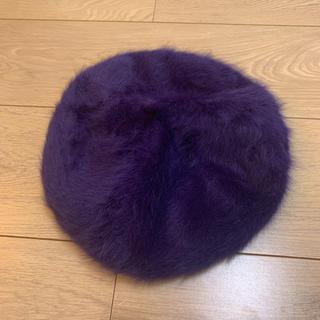 リリーブラウン(Lily Brown)のファーベレー帽(ハンチング/ベレー帽)