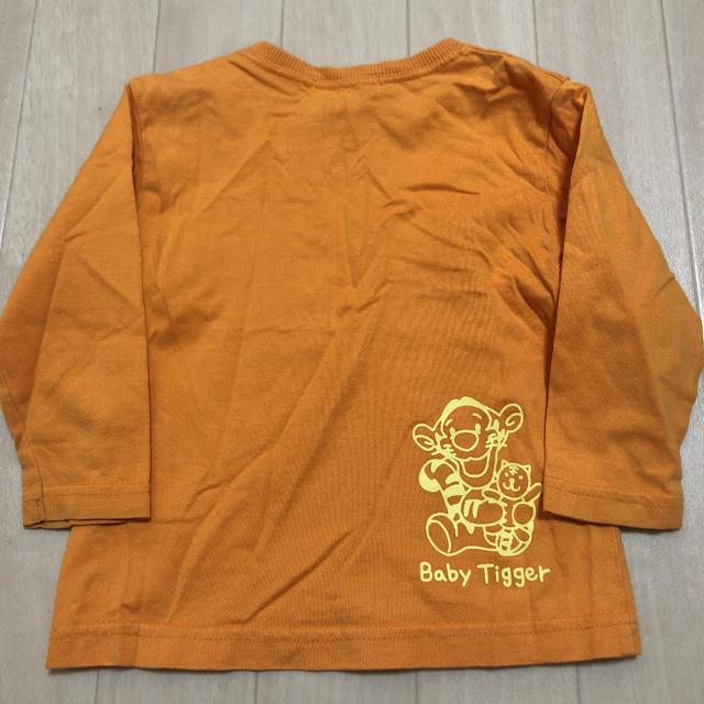 Disney(ディズニー)のディズニー ロンT 80 プーさん キッズ/ベビー/マタニティのベビー服(~85cm)(Tシャツ)の商品写真
