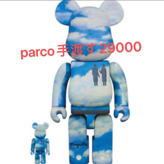 メディコムトイ(MEDICOM TOY)のBE@RBRICK René Magritte 400% 100%(その他)