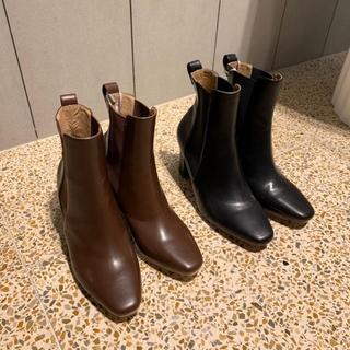 スナイデル(snidel)のスナイデル SNIDEL スリムサイドゴアブーツ (ブラック)(ブーツ)