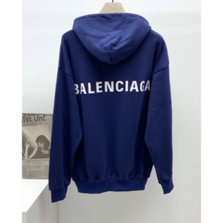 バレンシアガ(Balenciaga)のBALENCIAGA バレンシアガメンズバックロゴパーカー(パーカー)