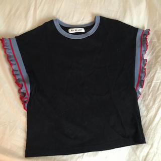 レイビームス(Ray BEAMS)のRay BEAMS 袖フリルカットソー(Tシャツ(半袖/袖なし))