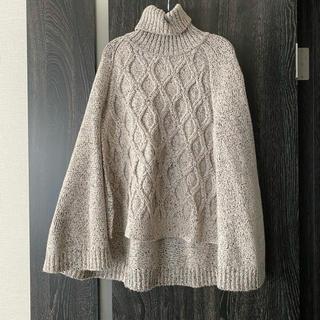 DOUBLE STANDARD CLOTHING - ダブスタ ポンチョ