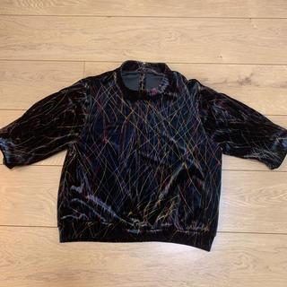 リリーブラウン(Lily Brown)のベロアカットソー(Tシャツ/カットソー(半袖/袖なし))