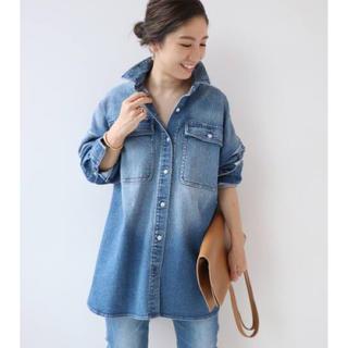 Plage - Healthy denim/ヘルシーデニム BLUE BIG シャツ