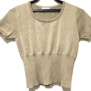 バレンシアガ(Balenciaga)のバレンシアガ 半袖セーター サイズ38 M -(ニット/セーター)