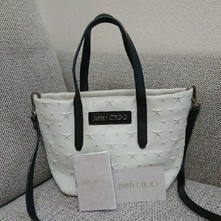JIMMY CHOO - 正規品 JIMMY CHOO minibag エンボススター
