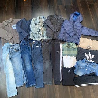 エイチアンドエム(H&M)のキッズ服 110〜130 セット(ジャケット/上着)