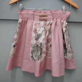 アンクルージュ(Ank Rouge)のアンクルージュ 美品 オリジナル柄 スカート(ミニスカート)
