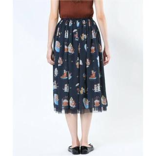 フランシュリッペ(franche lippee)のfranche lippee チュールスカート なつやすみ(ひざ丈スカート)