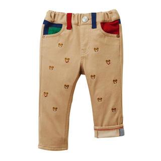mikihouse - ミキハウス 人気のプッチー総刺繍のパンツ  120cm
