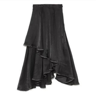 Lily Brown - lilyBrown 裾パイピングイレヘム スカート イレヘムスカート
