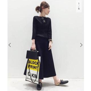 L'Appartement DEUXIEME CLASSE - 【美品】L'Appartement  Flare スカート ブラック 34