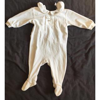 ベビーディオール(baby Dior)のベビーディオール ロンパース 60cm(ロンパース)