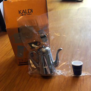 カルディ(KALDI)のカルディコーヒーグッズミニチュアフィギュア(置物)
