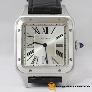 カルティエ(Cartier)のカルティエサントスデュモンLM【美品】2019年新作モデル(腕時計(アナログ))