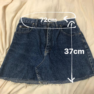 Calvin Klein - カルバンクライン デニムスカート スカート 古着